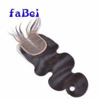 Unprocessed Hair Wholesale Last For Long Virgin Hair Closure Piece 44 Deep Wave Lace Closure thumbnail image