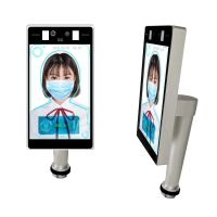 Facial Recognition Temperature Measurement Machine Mask Face Detector Attendance Tracking Panel thumbnail image