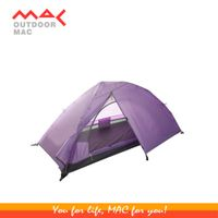 one person camping tent two layer mactent mac outdoor