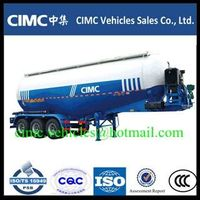 CIMC 3 axle cement tank trailer