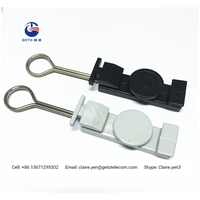 ABS plastic drop cable clamp for FTTH