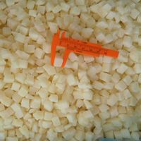 frozen IQF diced snow pear