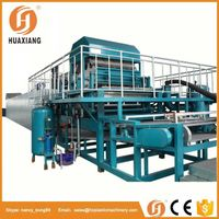 Energy saving automatic egg tray making machine with CE