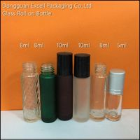 Glass Roll On Bottle for Cosmetic
