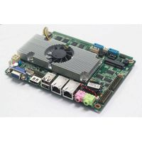 Intel fan/Fanless 3.5inch D2550 atom Processor Main Board