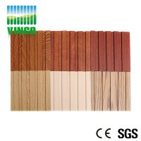 Acoustic Eco-wood soundproofing panel for hotel room
