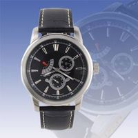 Mechanic retrograde watch with day date function