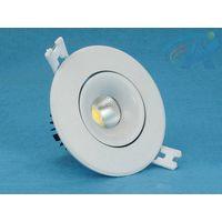 5-7W Cold Forging Aluminum Radiator COB LED Ceiling Light thumbnail image