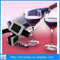 Digital red wine thermometer bar accessory