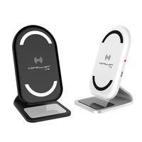 10W wireless charging stand iPhone wireless charger qi wireless charger with fast charging thumbnail image