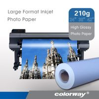 "large format High glossy Inkjet Photo Paper roll size 24"", 36"",42"", 44"""