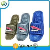 PVC air blowing massage man slipper