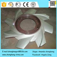 Pulper rotor for paper-making machinery/Stainless Steel castings
