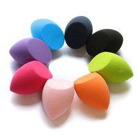 Beauty Soft Sponge Olive Shape Blender Makeup Blending Foundation Smooth Sponge Cosmetic Powder Puff