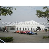 30x50m Big Exhibition Tent with Glass Wall for Wedding and Trade Show