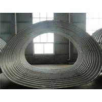 Horseshoe shape corrugated steel pipe corrugated steel culvert pipe thumbnail image