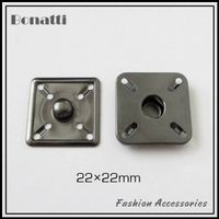 22mm snap fasteners and button for fabric