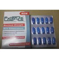 Blue Extenze Male Enhancement Nutritional Supplement Sex Pills for Male thumbnail image