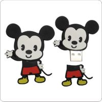 (Sell)carton style Mickey lovely cute rubber  USB