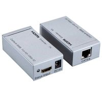 HDMI extender 60m over single cat5e/6 cable, 3D 1080p thumbnail image