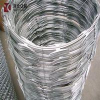 BTO&CBT Anti-rust Galvanized Concertina Razor Wire/Razor Barbed Wire/Razor Wire thumbnail image