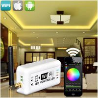 led wifi controller Android/iPad led strip driver 12v wifi dmx controller leds wifi