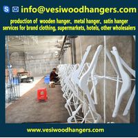 Goodn quantity wooden coat hangers hot selling in UK London