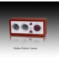 Clock Radio With Hidden Pinhole Color Camera Set thumbnail image