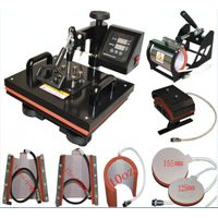 Digital 8 in 1 combo heat press machine for sales