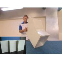 Air Duct  Super  PIR(Polyisocyanurate) Pre Insulated Panel (One Side Aluminium Composite Colour 20 thumbnail image