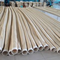 Nomex filter bag used for industrial dust collector for cement plant asphalt plant thumbnail image