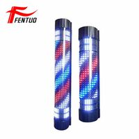 led barber pole H90