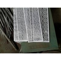 High quality powder coated decorative perforated panel