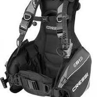 Cressi Air Travel 2.0 BCD, Black