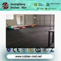 Anti-slip gym rubber flooring mats thumbnail image