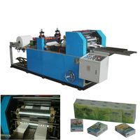 High speed automatic mini pocket tissue paper making machine