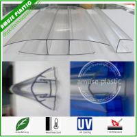 Transparent Plastic Polycarbonate Accessories for PC Sheets Connecting Wholesale thumbnail image
