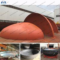 Steel elliptical head mild steel half sphere for fire pit fire bowl dish head