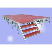 Wedding tent stage, movable stage platform for outdoor wedding party tent floor thumbnail image