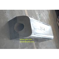 factory direct supply square marine rubber fender used for dock