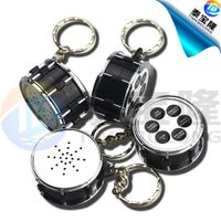 Drum sound keychain