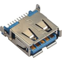 USB 3.0 Connector with Tin Plated SMT Type