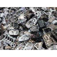 Cast aluminum engine block scraps thumbnail image