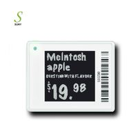 Supermarket Epaper Tags 1.54inch E-ink ESL System Electronic Digital Shelf Price Label