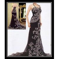 new style designer embroidery evening dress / prom dress