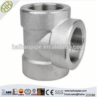 China supplier manufacturing steel tee A234 WPB pipe fitting