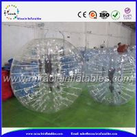 Safety inflatable ball costume,inflatable human bubble for soccer play BB-M7005