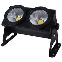 amazing 2eyes 100w smart led strobe matrix audience blinder light