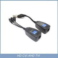 2015 1channel Coax CAT5 To Camera CCTV BNC UTP Video Balun Connector HD CVI TVI/AHD 3 in 1 power adu thumbnail image