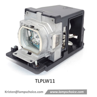Original TLPLW11 Projector Lamp with housing For Toshiba Tlp-X2000 Projector thumbnail image